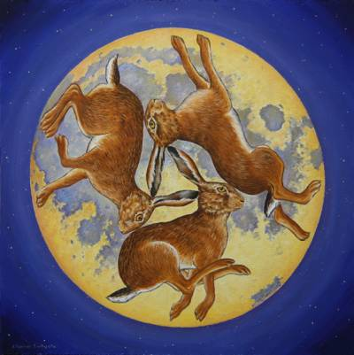 Moon Hares